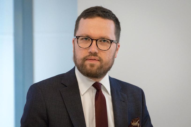 Tymoteusz Zych z Ordo Iuris /Grzegorz Banaszak /Reporter