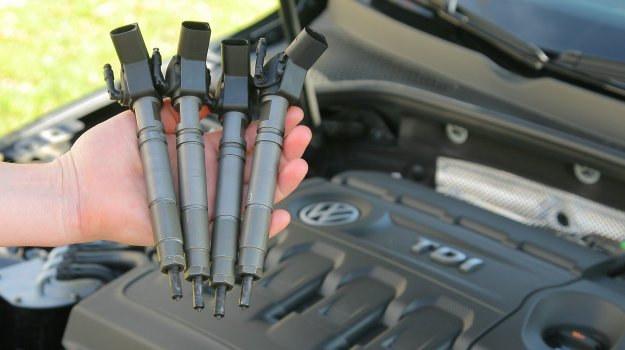 Typowa awaria wtryskiwaczy common rail to uszkodzenie zaworka dawkowania paliwa. /Motor