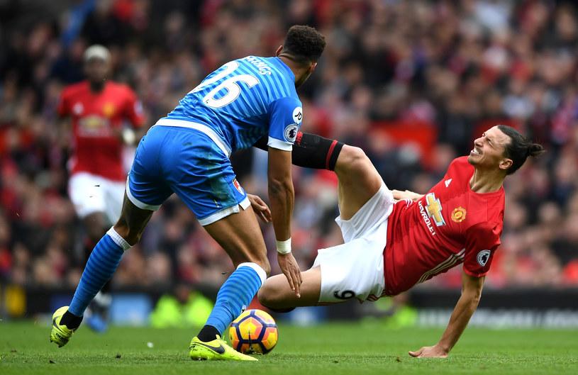 Tyrone Mings i Zlatan Ibrahimović /Shaun Botterill /Getty Images