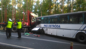 Tyrowo: Wypadek autokaru z dziećmi. Są ofiary