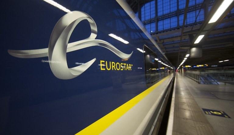 Tysiąc trzystu pasażerów pociągów Eurostar zostało zablokowanych /AFP