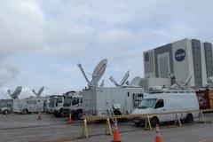 Tysiące dziennikarzy przyjechało na Florydę, by relacjonować start Atlantisa