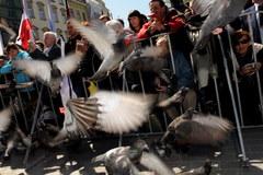 Tysiące ludzi na krakowskim Rynku