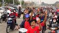 Tysiące motocyklistów na drogach. Trwają protesty przeciwko wojskowemu przewrotowi w Birmie