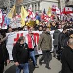 """Tysiące osób protestowały w Tbilisi. """"Gruzja stoi na rozdrożu"""""""
