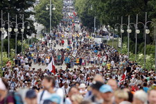 Tysiące pielgrzymów dotarło na Jasną Górę