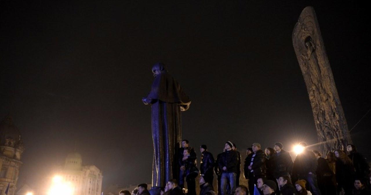 Tysiące przeciwników władz wyszły na ulice Lwowa