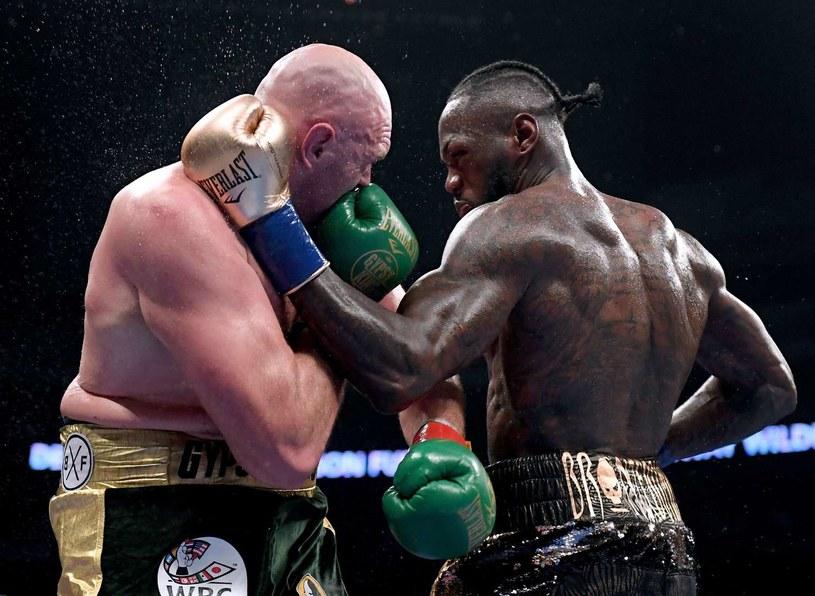 Tyson Fury i Deontay Wilder zmierzą się po raz drugi /AFP