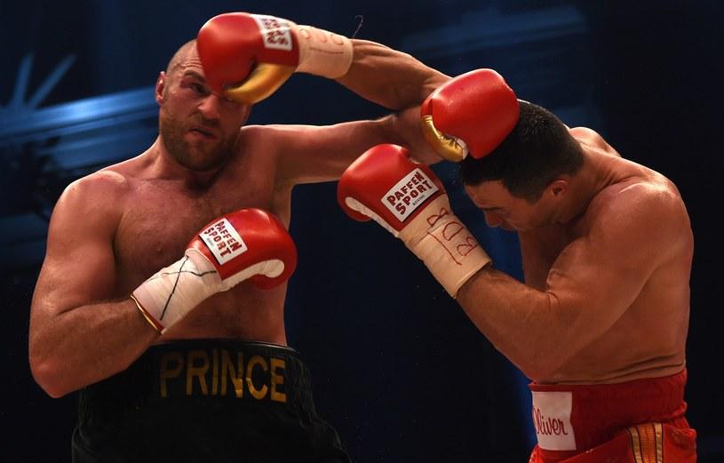 Tyson Fury i Władimir Kliczko /AFP