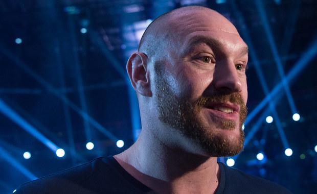 """Tyson Fury ogłosił datę powrotu na ring. """"Grzejcie moje pasy, chłopcy, bo one należą do króla"""""""
