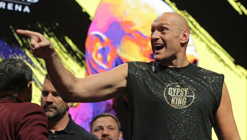 Tyson Fury wyśmiewa Anthony'ego Joshuę