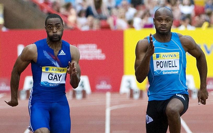 Tysona Gaya i Asafy Powella zabraknie w Moskwie z tych samych powodów /AFP