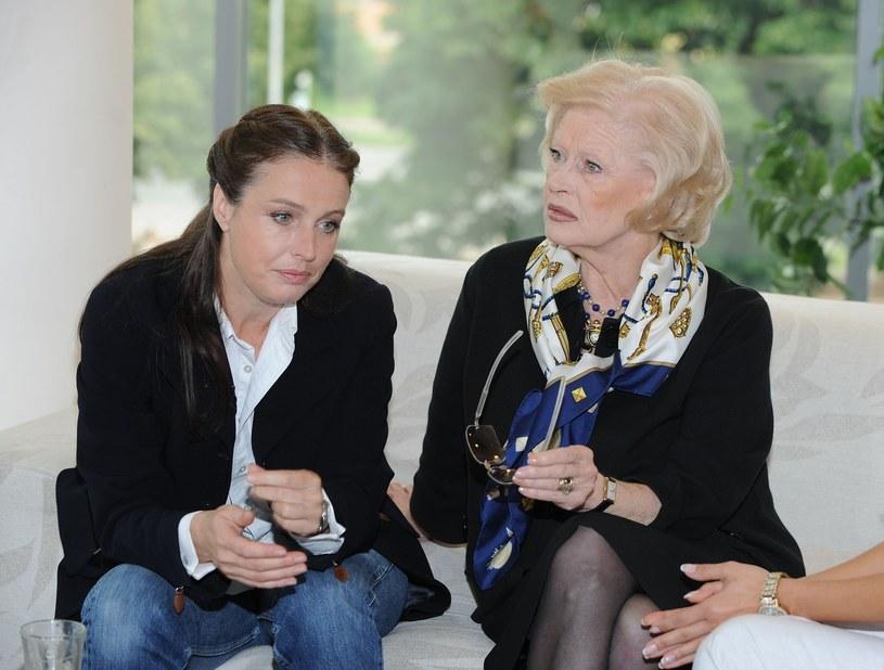 Tyszkiewicz z córką Karoliną /- /East News