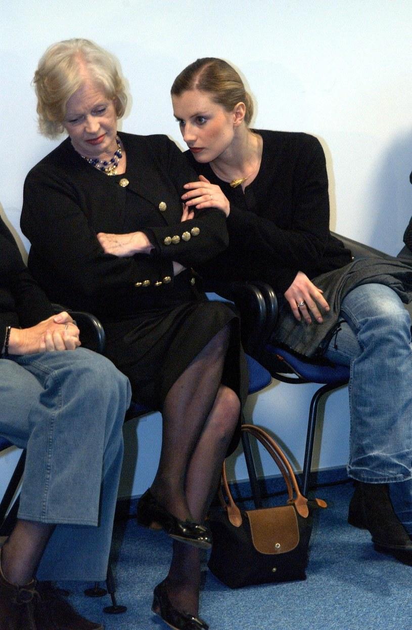 Tyszkiewicz z córką Wiktorią /- /East News