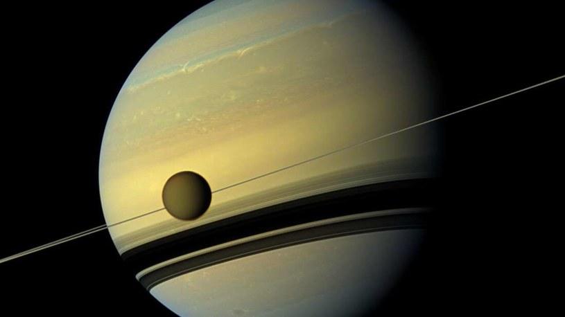 Tytan i Saturn /materiały prasowe