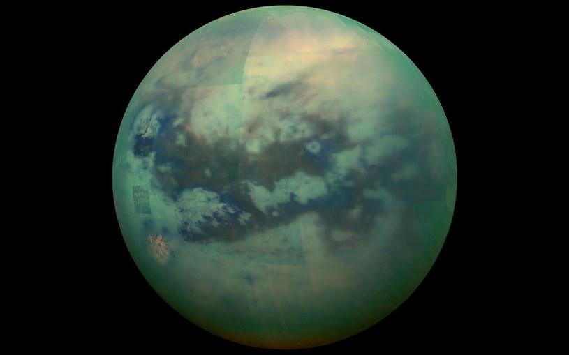 Tytan to jeden z najbardziej interesujących obiektów Układu Słonecznego /materiały prasowe