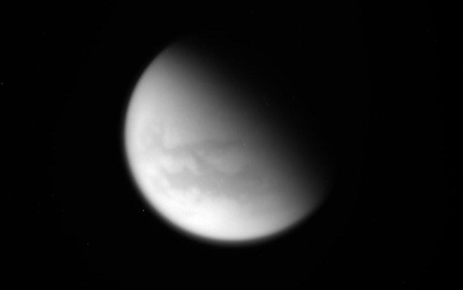 Tytan /NASA/JPL-Caltech/Space Science Institute /materiały prasowe