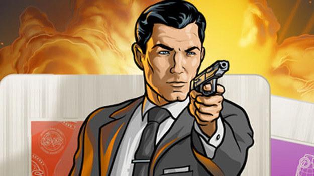 """Tytułowy bohater serialu """"Archer"""" /materiały prasowe"""