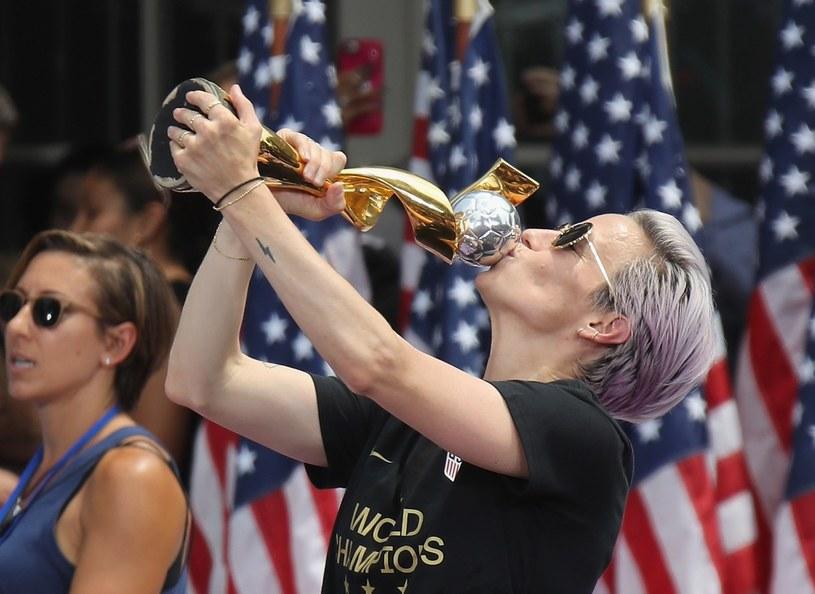 Tytułu będą bronić Amerykanki. Na zdjęciu Megan Rapinoe /AFP