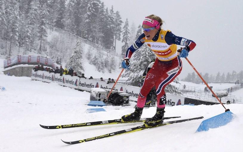 U Norweżki Therese Johaug stwierdzono stosowanie dopingu /AFP