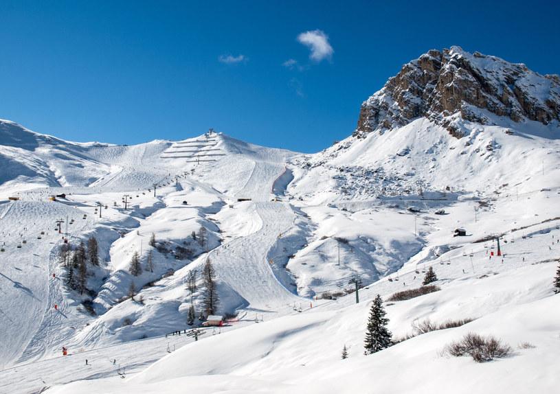 U stóp Gruppo del Sella przez cały tydzień można nie zdejmować nart /123RF/PICSEL