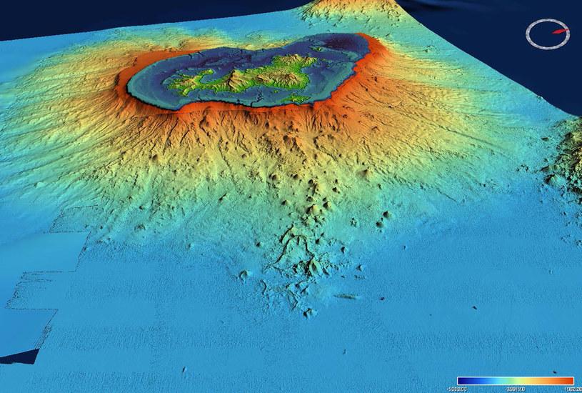 U wybrzeży Majotty pojawił się nowy wulkan. Powstał niedawno /materiały prasowe