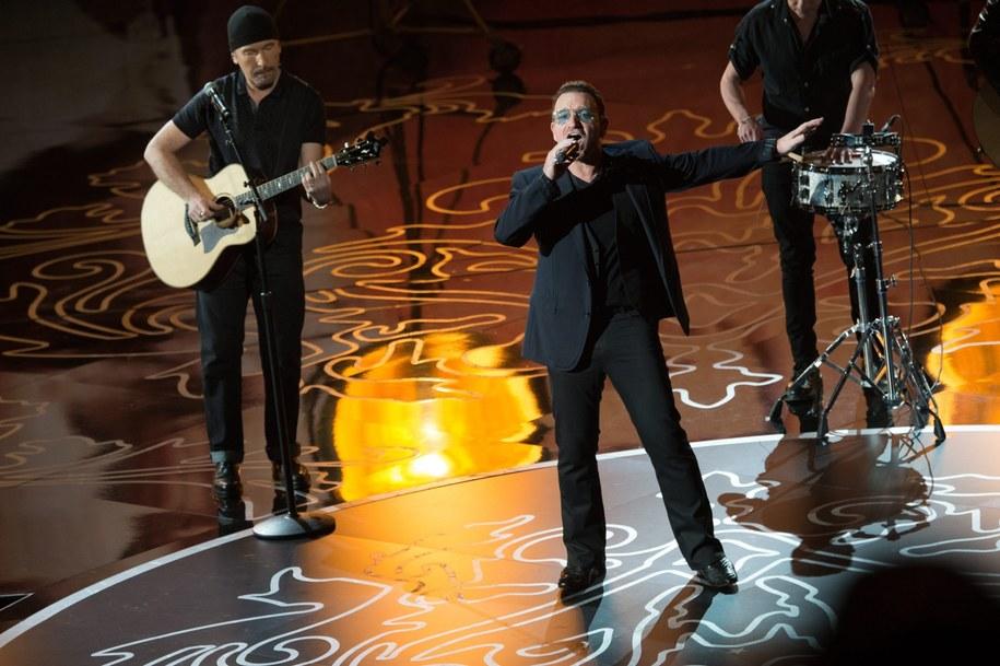 U2 na oscarowej gali /AARON POOLE /PAP/EPA
