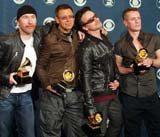 U2: Nominowani do Rock And Rollowego Salonu Sławy /AFP