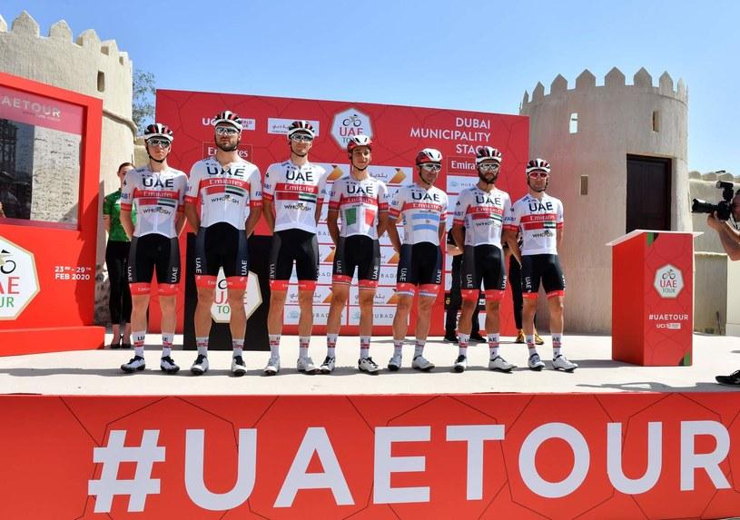 UAE Team Emirates /AFP