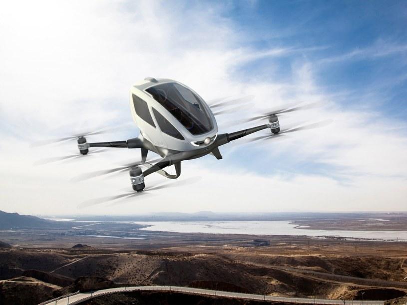 Uber marzy o byciu pionierem latających taksówek /materiały prasowe