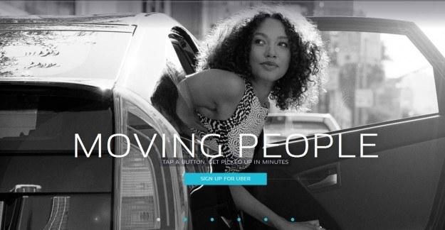 Uber okazał się dużym sukcesem w wielu miastach na świecie - czy podbije Warszawę? /materiały prasowe