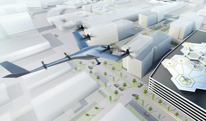 Uber planuje budowę pierwszej sieci latających pojazdów miejskich /INTERIA.PL/informacje prasowe