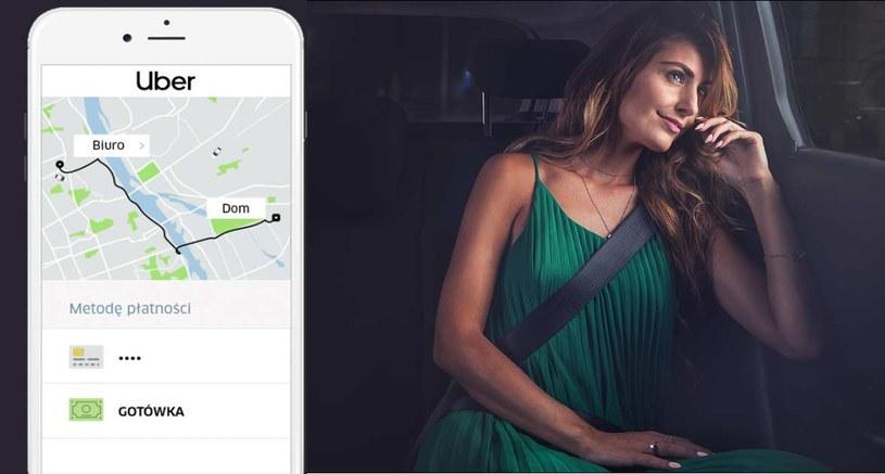 Uber wprowadza opcję płatności gotowką /materiały prasowe