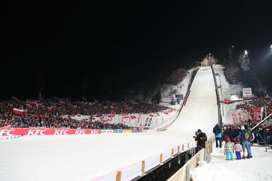 Ubiegłoroczny konkurs drużynowy zawodów Pucharu Świata w skokach narciarskich w Zakopanem / Grzegorz Momot    /PAP