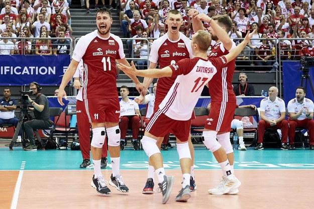 Ubiegłoroczny mecz reprezentacji Polski podczas meczu turnieju kwalifikacyjnego do igrzysk olimpijskich / Adam Warżawa    /PAP