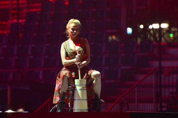 Ubijaczka masła zdobędzie głosy dla Polski? (fot. Andres Putting/eurovision.tv) /