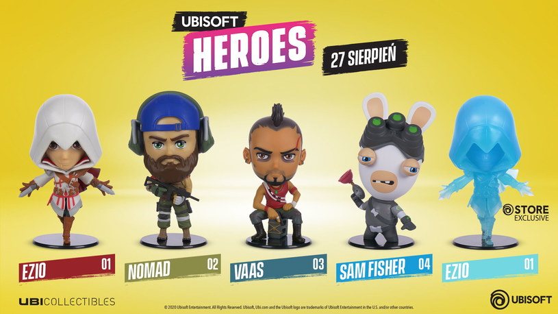 Ubisoft Heroes /materiały prasowe