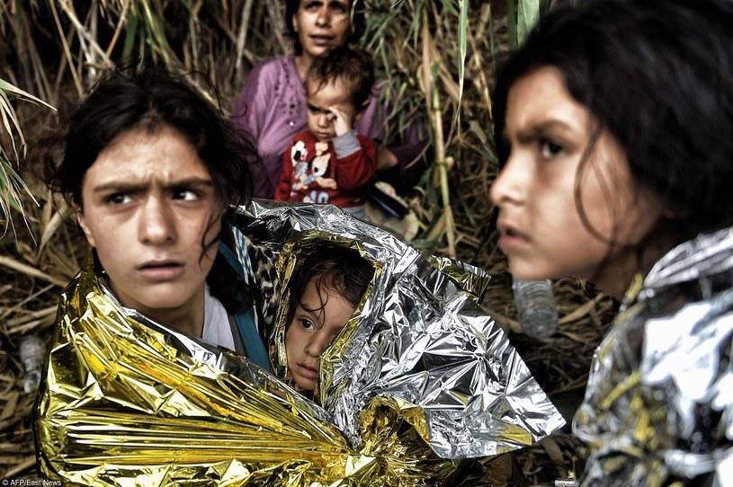 Uchodźcy, którzy dotarli na Lesbos, zdj. ilustracyjne /East News