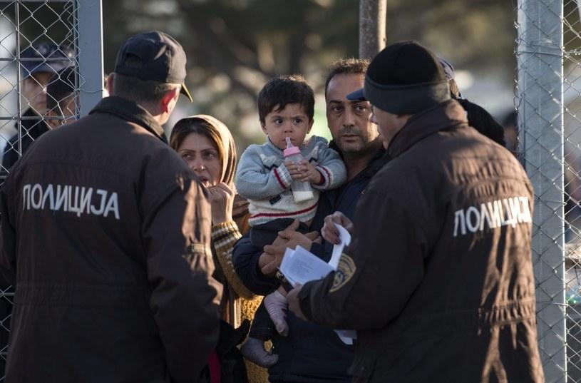 Uchodźcy na granicy grecko-macedońskiej/zdj. ilustracyjne /GEORGI LICOVSKI /PAP/EPA
