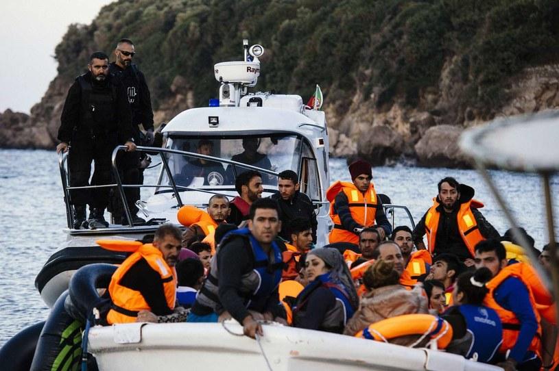 Uchodźcy przybywający do Europy, zdj. ilustracyjne /AFP