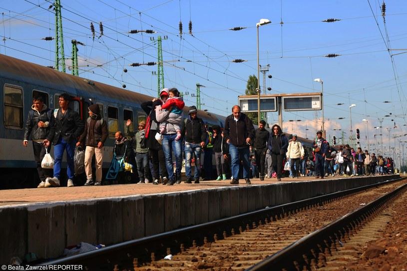 Uchodźcy przybywający do państw UE, zdj. ilustracyjne /Beata Zawrzel/REPORTER /East News
