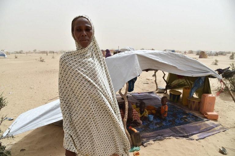 Uchodźcy uciekają przed Boko Haram, zdj. ilustracyjne /AFP