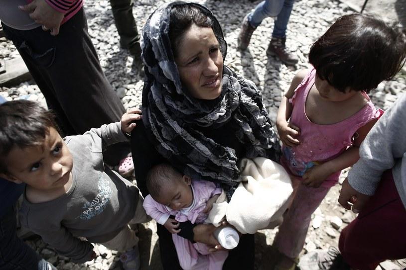 Uchodźcy w obozie w Idomeni (Grecja) /PAP/EPA