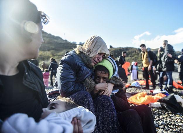 Uchodźcy w Turcji /BULENT KILIC /AFP