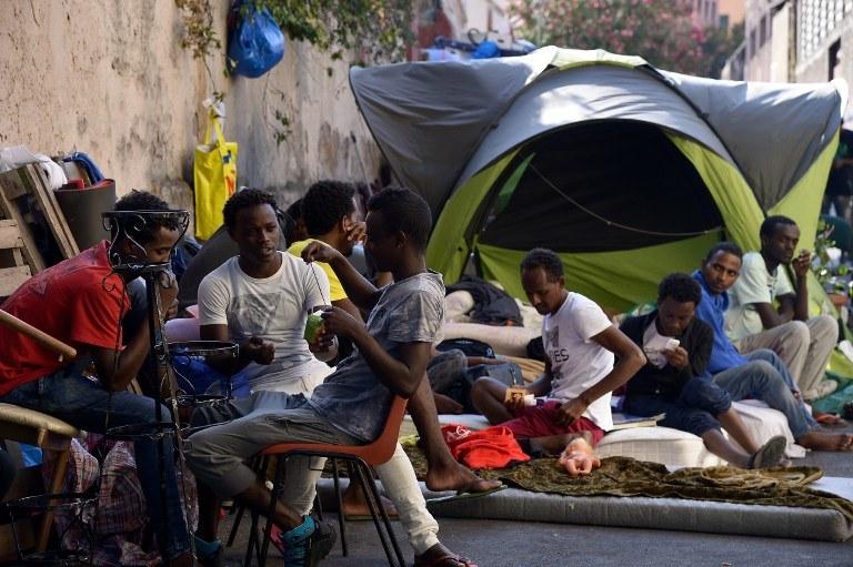 Uchodźcy we Włoszech; zdj. ilustracyjne /AFP