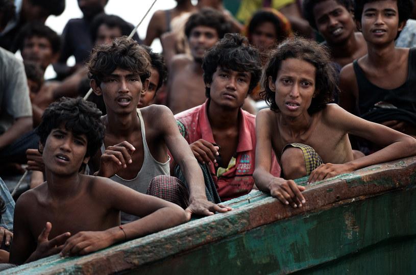 Uchodźcy z ludu Rohingja /AFP
