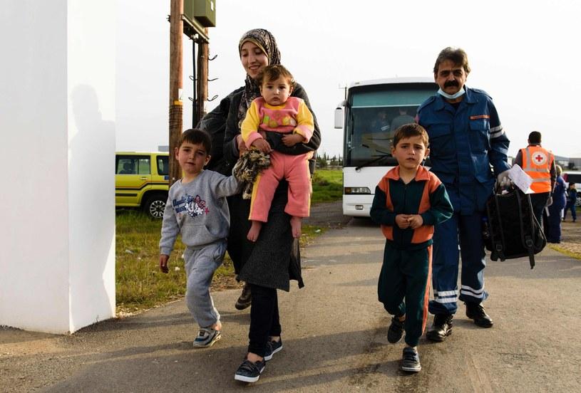 Uchodźcy z Syrii, zdjęcie ilustracyjne /AFP
