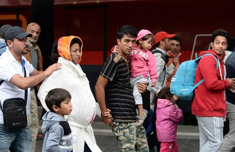 Uchodźcy, zdj. ilustracyjne /Andreas Gebert /PAP/EPA
