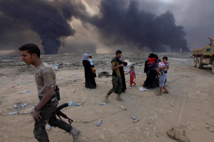 Uchodźcy, zdj. ilustracyjne /Alaa Al-Marjani  /East News