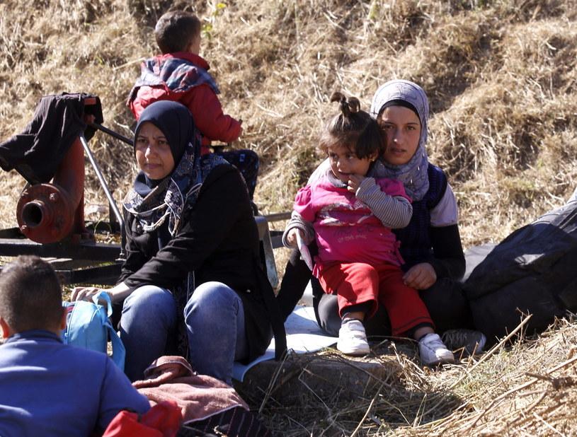 Uchodźcy /PAP/EPA